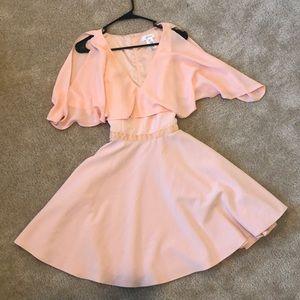 Jay Godfrey blush/peach dress size 8.